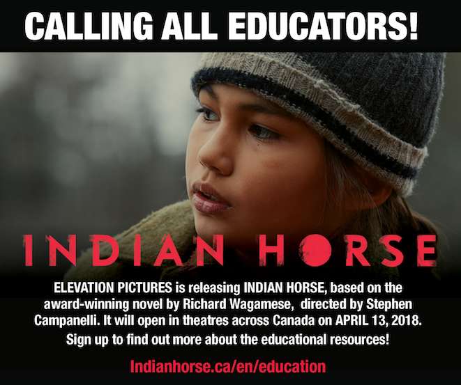 Indian Horse Is coming to the big screen April 13, 2018